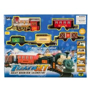 BlueBlockFactory Rocky Mountain Train and Carriage Play Set