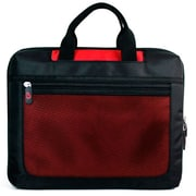 Vangoddy Mesh Nylon Laptop Sleeve for 17 Inch Laptops, Red