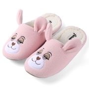 Aerusi Women Home Spa Plush Slipper Teddy Bear Size 7 - 8
