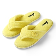 Aerusi Woman Splash Spa Slipper Relax Home Yellow Size 7 - 8