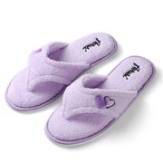Aerusi Woman Splash Spa Slipper Relax Home Purple Size 7 - 8