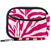 Vangoddy Point and Shoot Camera Sleeve Pouch Pink white Zebra