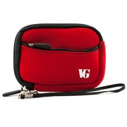 Vangoddy Point and Shoot Camera Sleeve Pouch Red