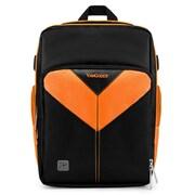 Vangoddy Sparta SLR DSLR Camera Backpack Black Orange