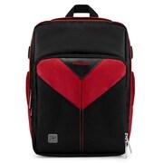 Vangoddy Sparta SLR DSLR Camera Backpack Black Red