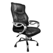 SumacLife 064 Tall Back Executive Chair Leather Black