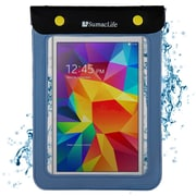 SumacLife Waterproof Pouch Case Blue For use with 7 - 8 Inch Tablets
