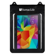 SumacLife Waterproof Pouch Case Splashy For use with 10 Inch Tablets Black