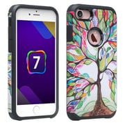 SumacLife Back Cover Case iPhone 7 7s Rainbow Tree
