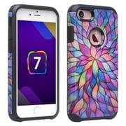 SumacLife Back Cover Case iPhone 7 Plus 7s Plus Raimbow Petals