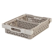 IRIS® Decorative Basket Combination, Tan, 4 Pack (250240)