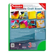 Bubbalux Ultimate Craft Board, Letter Size in Forest Green (6 Pack)(FPBU118GN2)