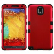 Insten Red/Black Tuff Hybrid Protector Cover Case For Samsung Galaxy Note 3 N9000