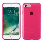 Insten Ultra Slim 2.0mm TPU Gel Rubber Skin Dot Case For iPhone 7 - Hot Pink