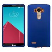 Insten Hard Rubber Coated Cover Case For LG G4 - Blue