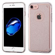Insten Transparent Clear Bling Glitter Flexible TPU Rubber Skin Case For Apple iPhone 7