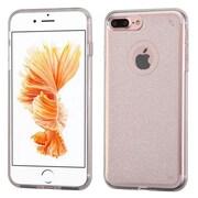 Insten Transparent Clear Bling Glitter Flexible TPU Rubber Skin Case For Apple iPhone 7 Plus