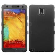 Insten Tuff Hard Hybrid Rubberized Silicone Cover Case For Samsung Galaxy Note 3 - Black