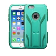 Insten Baby Green/Forest Green TUFF Extreme Hybrid Rugged Hard Shockproof Stand Case For iPhone 6S 6 4.7""
