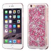 Insten Hard Diamante Case For Apple iPhone 6s Plus / 6 Plus - Hot Pink