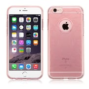 Insten Clear Rose Gold Rubber TPU Soft Case Cover For iPhone 6S Plus / 6 Plus (Ultra-Thin)