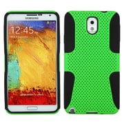 Insten Green Hybrid Rugged Shockproof Meshed Hard Case Cover For Samsung Galaxy Note 3 III N9000