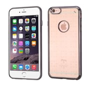 Insten Ultra Slim Clear Back TPU Case with Gray Bumper For Apple iPhone 6 Plus / 6s Plus