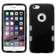 "Insten 3-Layer Hybrid Protective Hard Case Cover for iPhone 6s Plus / 6 Plus 5.5"" - Black/Gray"