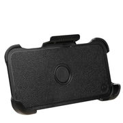 Insten Hard Rubber Holster w/Holster For Apple iPhone 6 - Black
