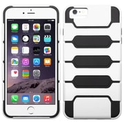 Insten Hard Hybrid Rugged Shockproof Case For iPhone 6 Plus / 6s Plus - White/Black