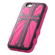 "Insten Hard Hybrid Rugged Shockproof Silicone Case For iPhone 6S 6 4.7"" - Black/Hot Pink"