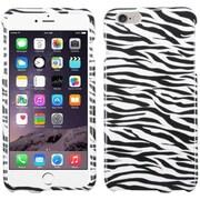 """Insten Zebra Hard Cover Case For Apple iPhone 6 Plus 5.5"""" - White/Black"""