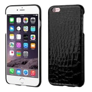 Insten Crocodile Hard Skin Cover Case For Apple iPhone 6 Plus/6s Plus - Black