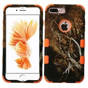 Insten Yellow/Black Vine/Orange TUFF Hybrid Dual Layer Phone Case Cover for Apple iPhone 7 Plus