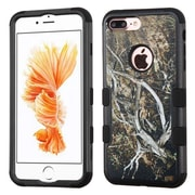 Insten Yellow/Black Vine/Black TUFF Hybrid Dual Layer Case Cover for Apple iPhone 7 Plus