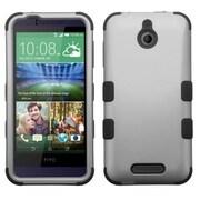 Insten Hard Hybrid Case For HTC Desire 510 - Gray/Black