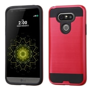 Insten Hard Dual Layer Case For LG G5 - Red/Black