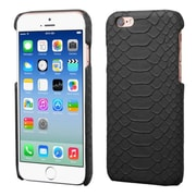 Insten Leather Snake Skin Cover Case For Apple iPhone 6/6s - Black