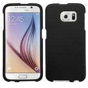 Insten Hard Rubberized Cover Case For Samsung Galaxy S6 - Black