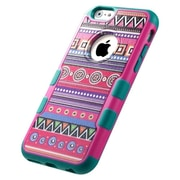 Insten Tuff Merge Tribal Fashion Hard TPU Cover Case For Apple iPhone 6 - Black/Red