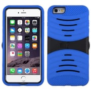 "Insten Symbiosis Gel Hybrid Rugged Shockproof Rubber Hard Case For iPhone 6 Plus / 6S Plus 5.5"" - Blue/Black"