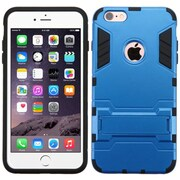 Insten Hard Hybrid Rugged Shockproof Silicone Cover Case with Stand For Apple iPhone 6 Plus/6s Plus - Blue/Black