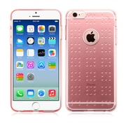 "Insten Glassy Transparent Clear Rose Gold Rubber Gel TPU Spots Case for iPhone 6 6S 4.7"" (Shock-Absorbing)"