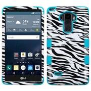 Insten Tuff Zebra Hard Dual Layer Case For LG G Stylo/G Vista 2 - Black/White