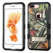 Insten Oak Leaves-Hunting Camouflage Collection/Black TUFF Hybrid Phone Stand Case Cover for Apple iPhone 7 Plus