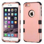 """Insten 3-Layer Hybrid Electroplating Cover Case for iPhone 6s Plus / 6 Plus 5.5"""" - Rose Gold/Black"""