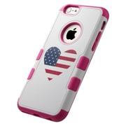 Insten Tuff Merge American Flag Heart Hard Case For Apple iPhone 6