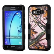 Insten Tuff Oak-Hunting Hybrid 3-Layer Silicon Hard Case Cover For Samsung Galaxy On5 - Pink/Black