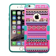 """Insten Tribal Fashion/Tropical Teal Green TUFF Merge Hybrid Hard Silicone Case For iPhone 6 Plus / 6S Plus 5.5"""""""