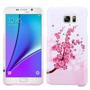 Insten Spring Flowers Hard Case For Samsung Galaxy Note 5 - Pink/White